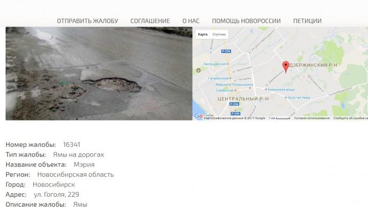 Общественники составили карту дорожных ям и назвали самые разбитые улицы
