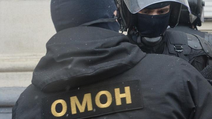 ОМОН нагрянул на рынок «Левобережный»