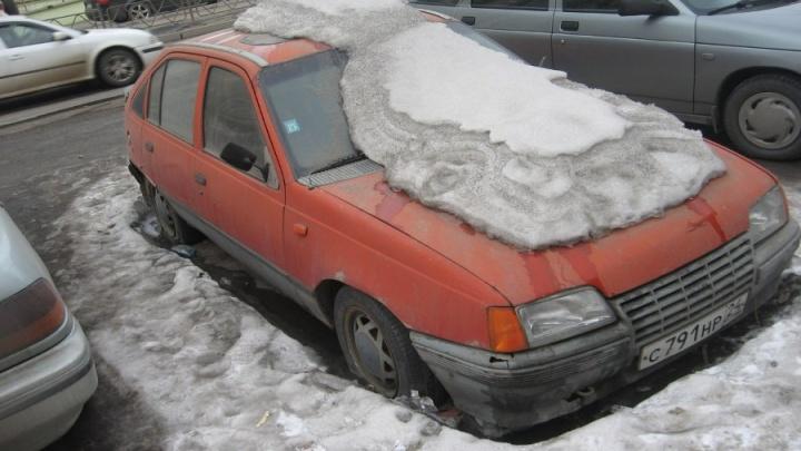 Я паркуюсь... на века. Фотоподборка машин-«подснежников» Красноярска
