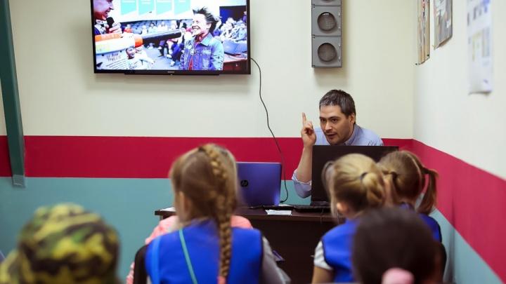Журналисты поделились секретами профессии с юными красноярцами