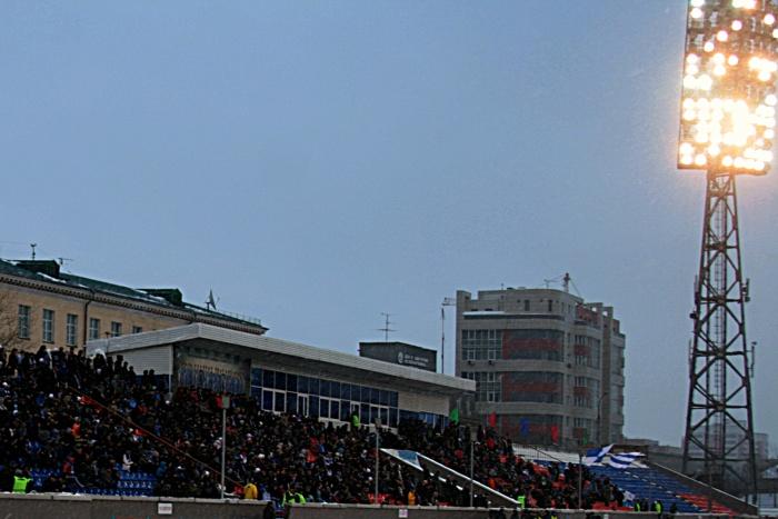 На стадионе «Спартак»