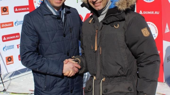 Кубок Анны Богалий-SKIMiR: Бьорндален стрелял в Новосибирске