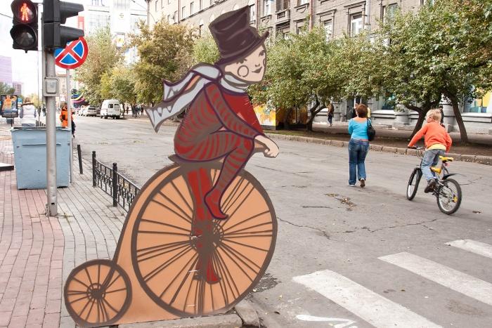 В пешеходную зону ул. Ленина начнет превращаться уже этим летом