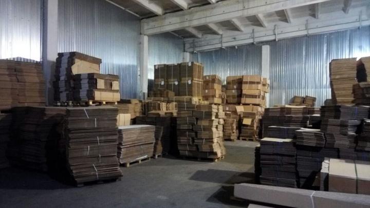 Крупный поставщик гофротары увеличил склад и теперь упаковку не нужно заказывать заранее