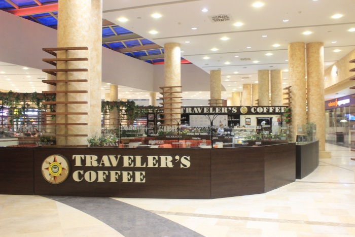 На месте Traveler's Coffee в «Ауре» открывается кофейня с эфиопским названием (фото)