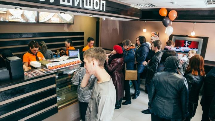 Известная сеть суши-шопов обещает прибыль для франчайзи 300 тысяч рублей в месяц