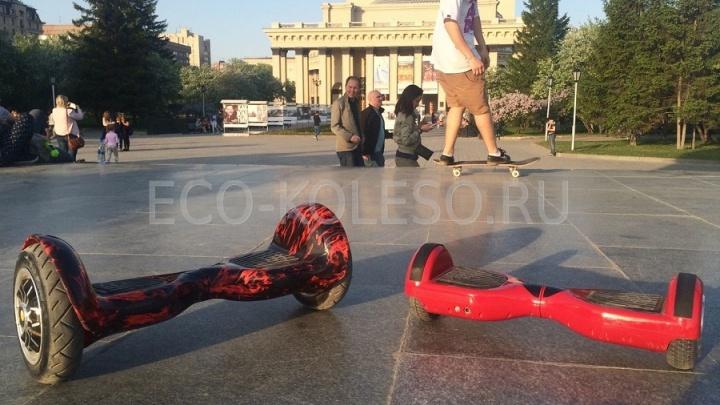 Внедорожный гироскутер-сигвей от компании Eco Koleso за 26900 рублей и сумка-чехол в подарок!