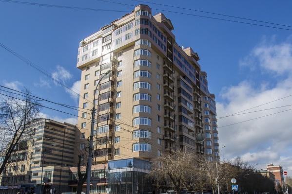 Дом, где продается элитная квартира