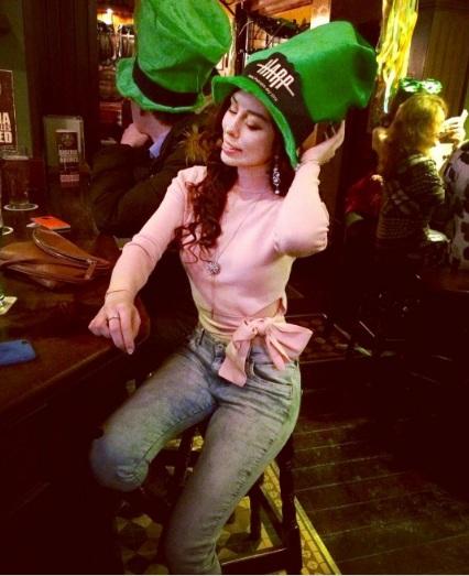 Зеленая шляпа —непременный атрибут празднования Дня святого Патрика