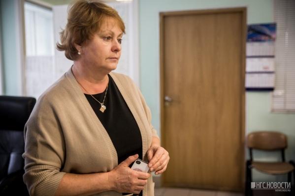 Ирина Большакова, главврач Новосибирской станции скорой помощи<br>