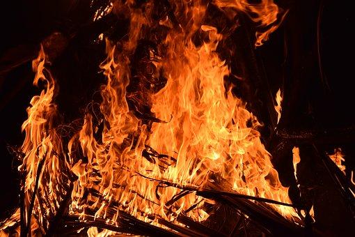 В пожаре погибла вся семья