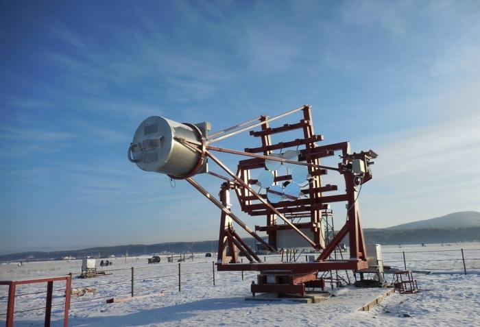 Черенковский телескоп в проекте TAIGA