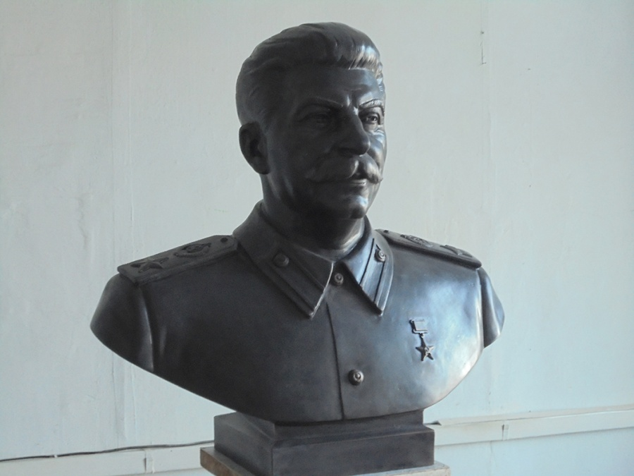 Бюст Сталина изготовили для установки вНовосибирске