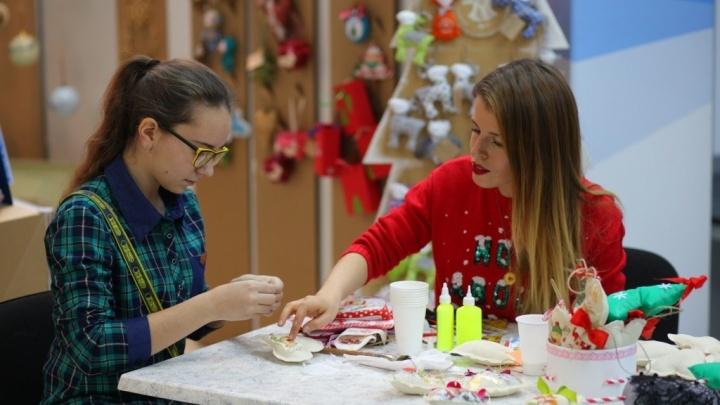 50 творческих мастер-классов проведут на Рождественской ярмарке