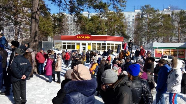 Городецкий пообещал не трогать Нижнюю Ельцовку ради Восточного обхода после протестов жителей