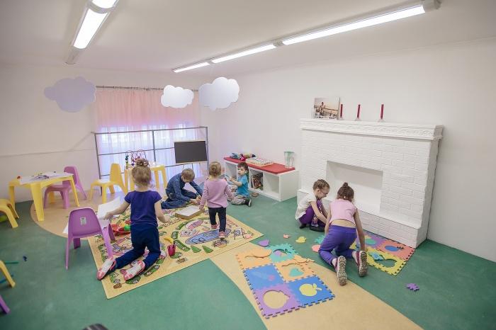 Игровая комната в детском центре