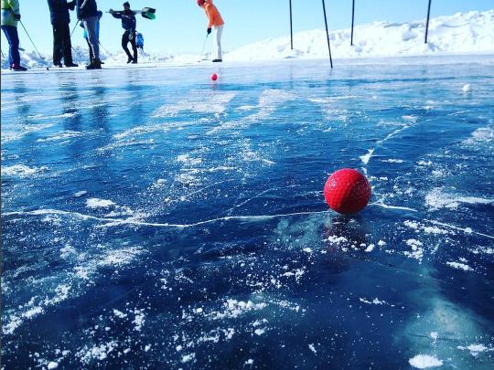 Новосибирцы выиграли необычный турнир на льду Байкала