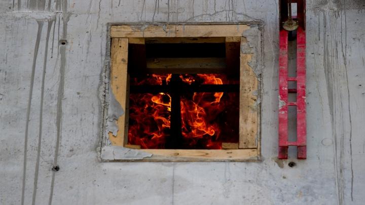 В МЧС назвали причину двух пожаров с жертвами под Новосибирском