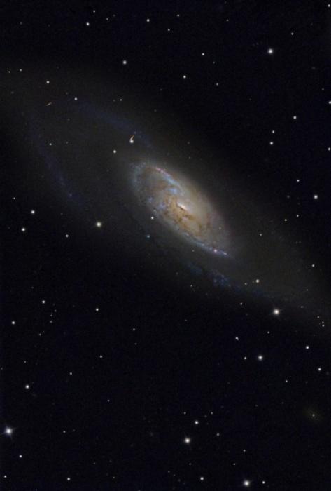 Спиральная галактика М 106