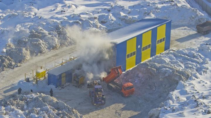 УФАС начало дело против снегоплавильной станции