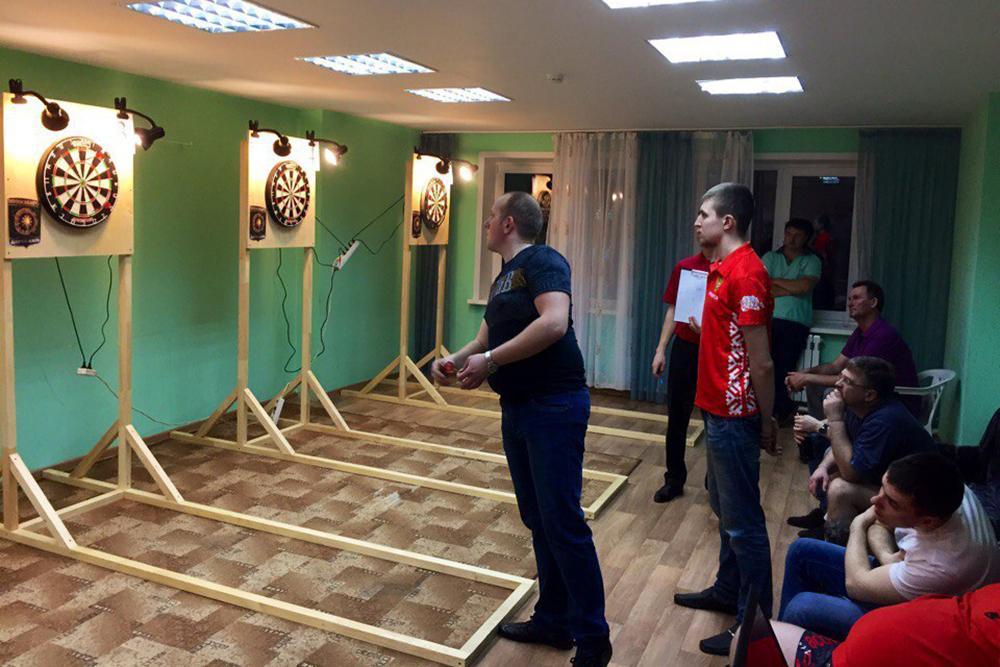 Чемпионат по дартс проходил по правилам игры «501»