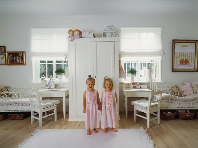Детская комната для близнецов