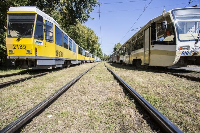 Новые трамваи в Новосибирске