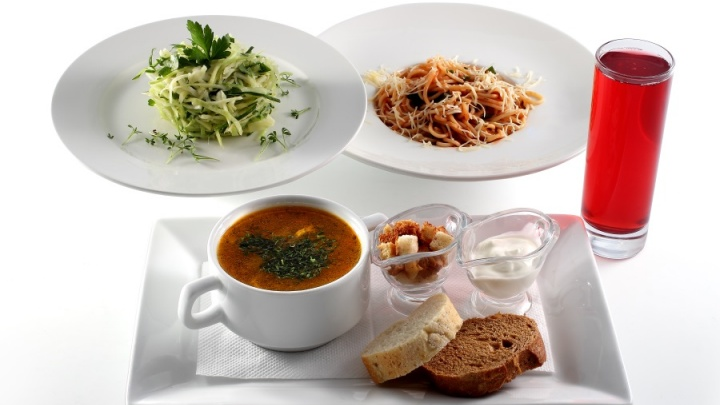 Легкий обед по легкой цене за 69 рублей!