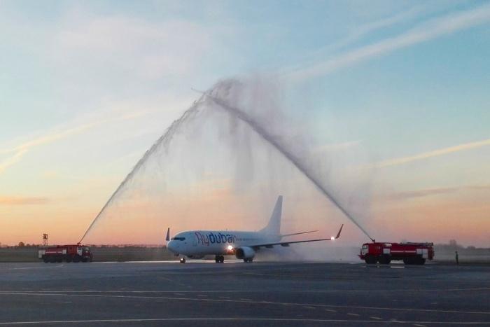 Авиакомпания flydubai выполняла рейсы между Новосибирском и Дубаем в 2015 году