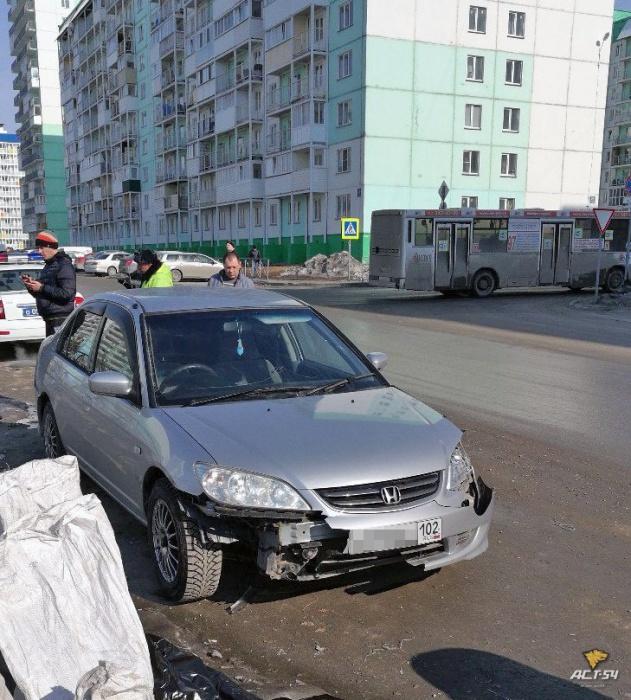 Нетрезвый омич протаранил шесть авто вНовосибирске