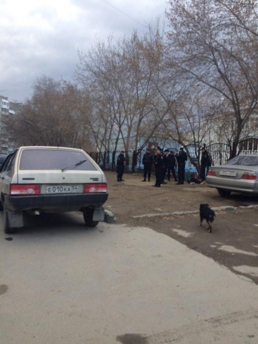 Сотрудников полиции вызвал учитель гимназии  № 11