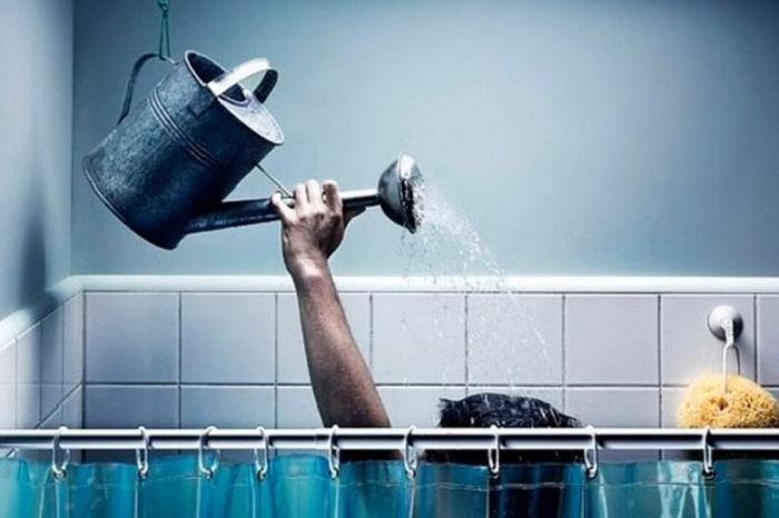 Воды нет, но вы держитесь!