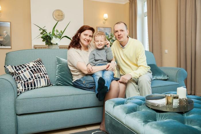 Семья с ребенком ищет квартиру