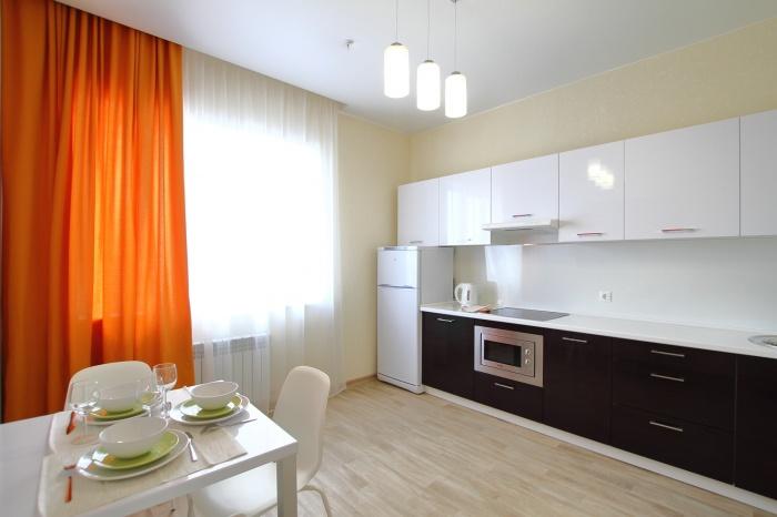Кухня, выполненная по стандартам отделки и комплектации