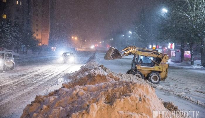 В Новосибирск возвращаются снегопады