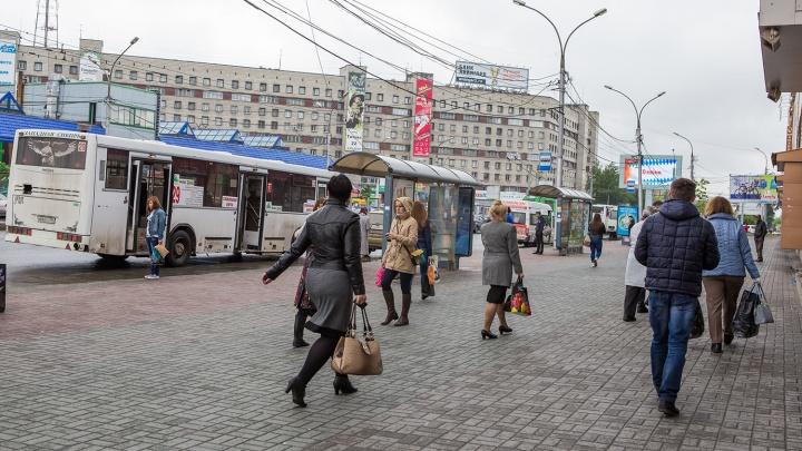 Названы самые популярные у новосибирцев остановки транспорта