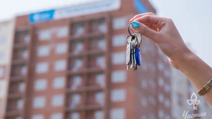 Новоселы в шоке: в «Чистой слободе» заселяют два дома