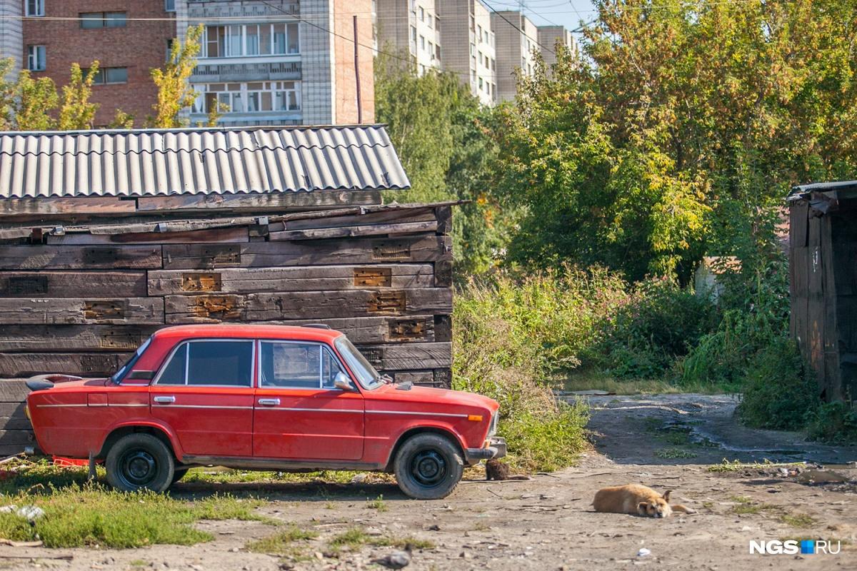 Самая короткая улица России (фоторепортаж)