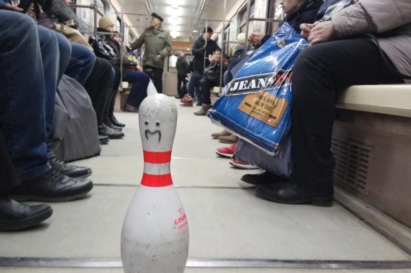 Мистер Кеглик едет в метро