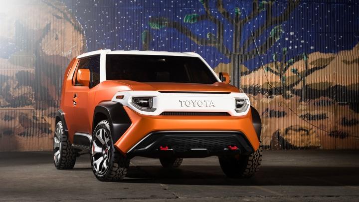 Toyota показала суперквадратный паркетник