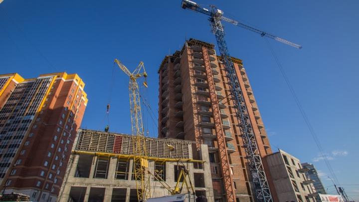 Строители назвали срок сдачи 10-летнего долгостроя напротив «Сибирского Молла»