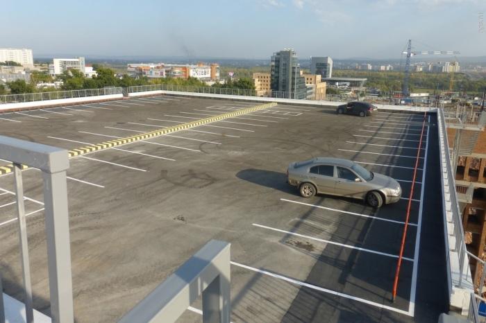 Многоуровневая парковка решит проблемы поиска места для авто при посещении МВДЦ «Сибирь»