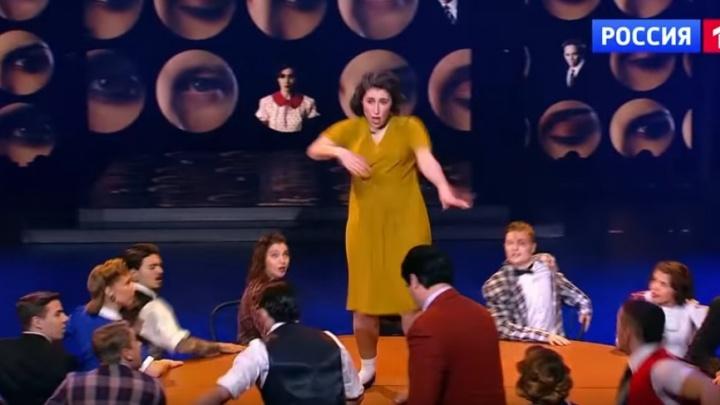 Новосибирцы станцевали на столе в эфире «России 1»