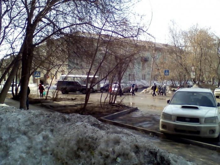 Драка произошла на перекрестке ул. Фасадной и Забалуева