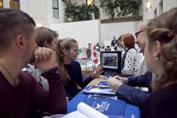 Выставка зарубежного образования в Новосибирске