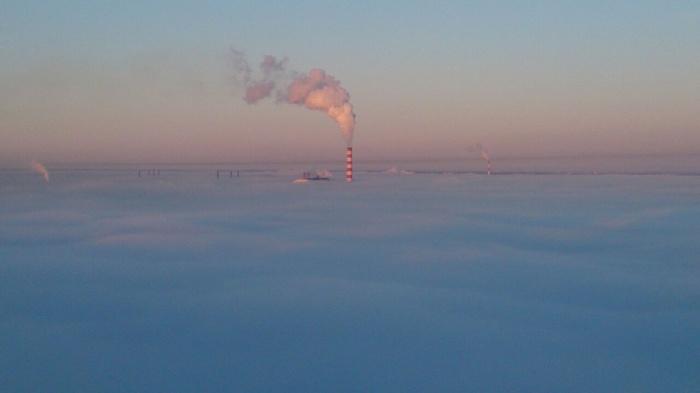 Левобережный Новосибирск с 26-го этажа. Фото читателя