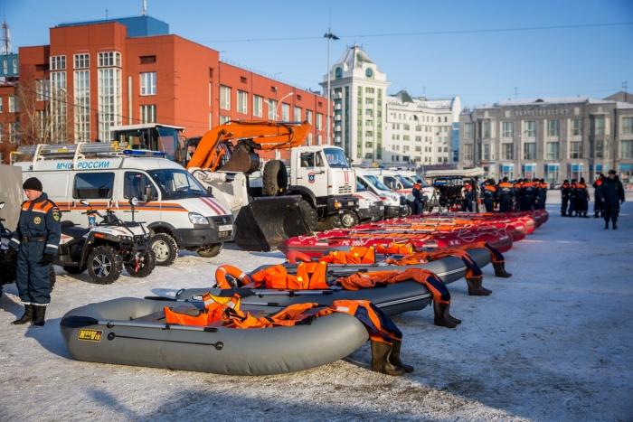 Спасатели покажут губернатору готовность к паводку