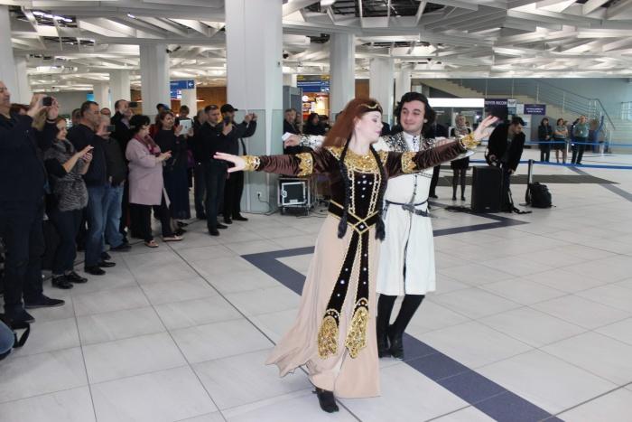 На празднике выступил Народный Ансамбль грузинского танца «Имеди»