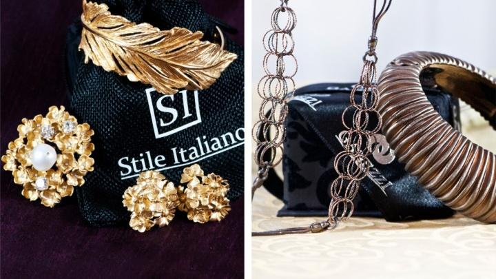 Новинки итальянской ювелирной моды приехали в Новосибирск