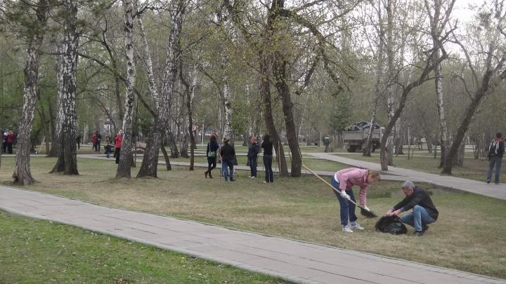 Новосибирцев позвали на общегородской субботник в день рождения Ленина